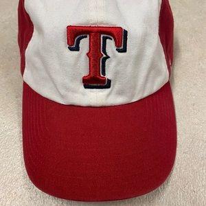 47 Brand Texas Rangers Hat Cap XL